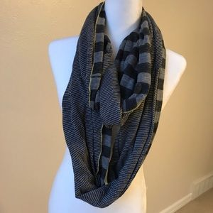 Anthropologie Reversible Infinity Scarf